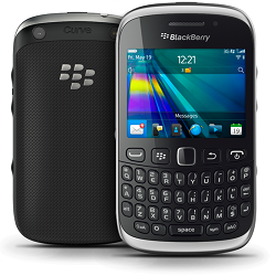 Unlocking by code Blackberry Curve 9320