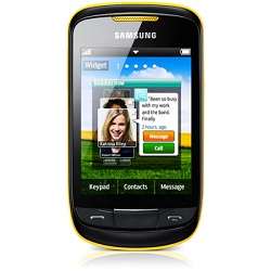 Unlocking by code Samsung S3850 Corby 2