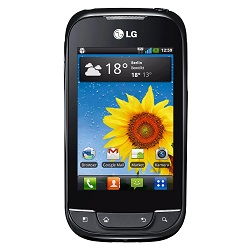Unlocking by code LG Optimus Net Dual