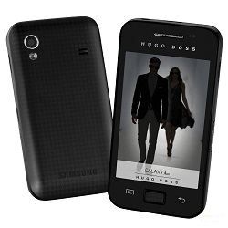 Unlocking by code Galaxy Ace Hugo Boss