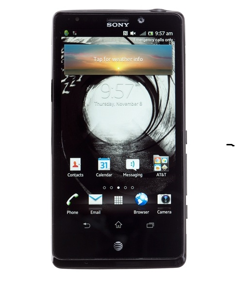 Unlocking by code Sony Xperia TL LT30at