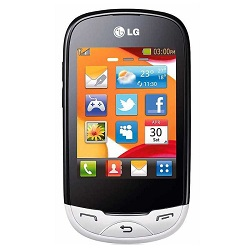 Unlocking by code LG T500