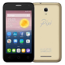 Unlocking by code Alcatel Pixi First