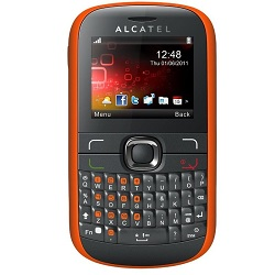 Unlocking by code Alcatel OT 585