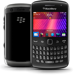Unlocking by code Blackberry 9350 Curve